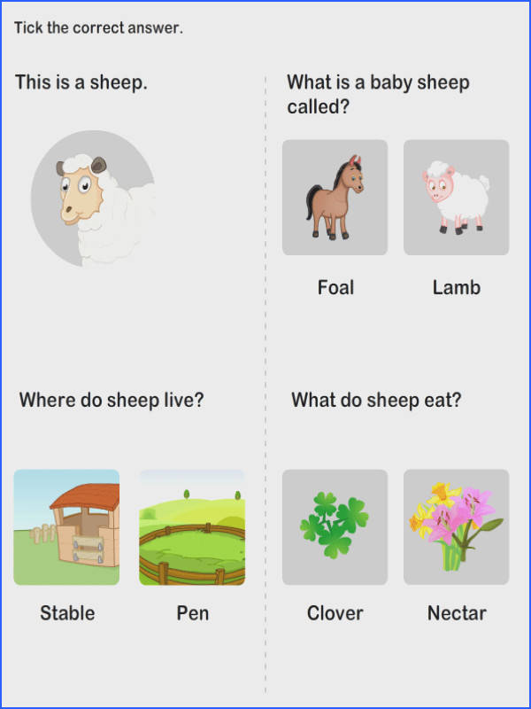 Farm Animal Worksheet 4 science Worksheets kindergarten Worksheets Make multiple of these for