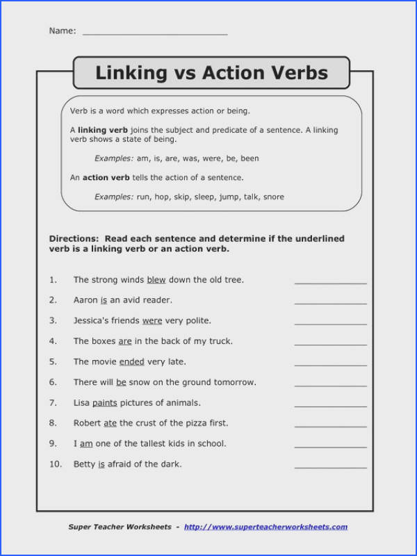 Finding Helping Verbs Worksheets Englishlinx Board Pinterest