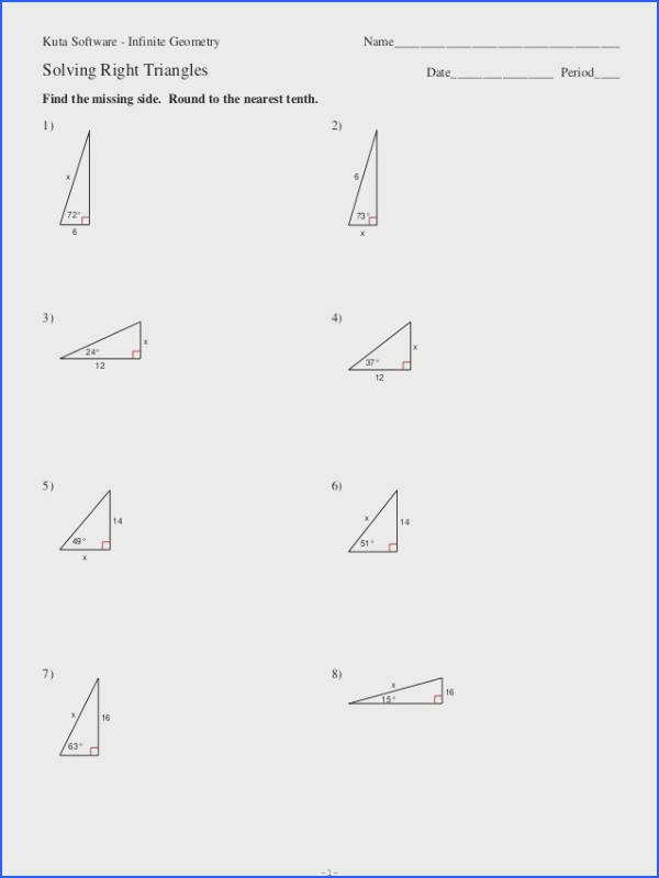 Finding Missing Angles In Triangles Worksheet New Pretty Geometry Math Answers Gallery Worksheet Mathematics Ideas