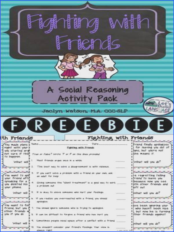 FREE 12 task cards and true false worksheet with answer key for middle and