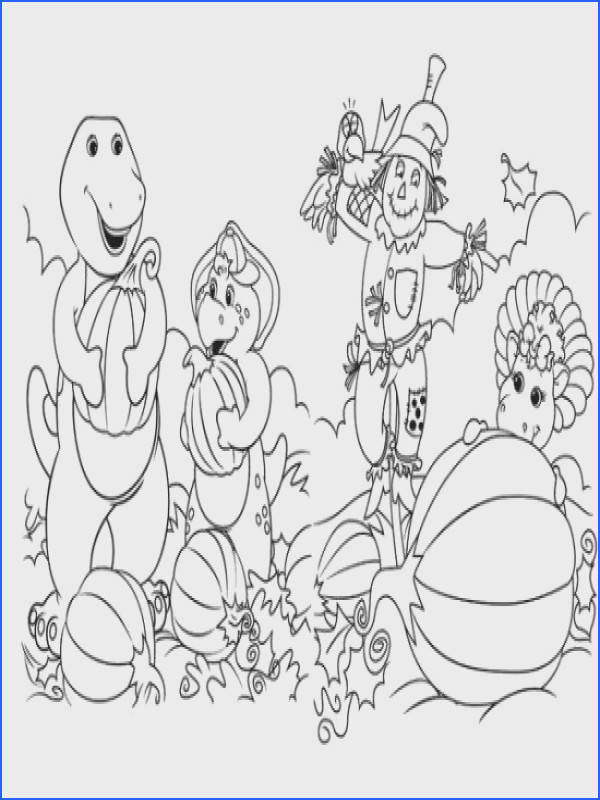 Free Barney And Friends Coloring Pages All About Free Coloring Pages for Kids