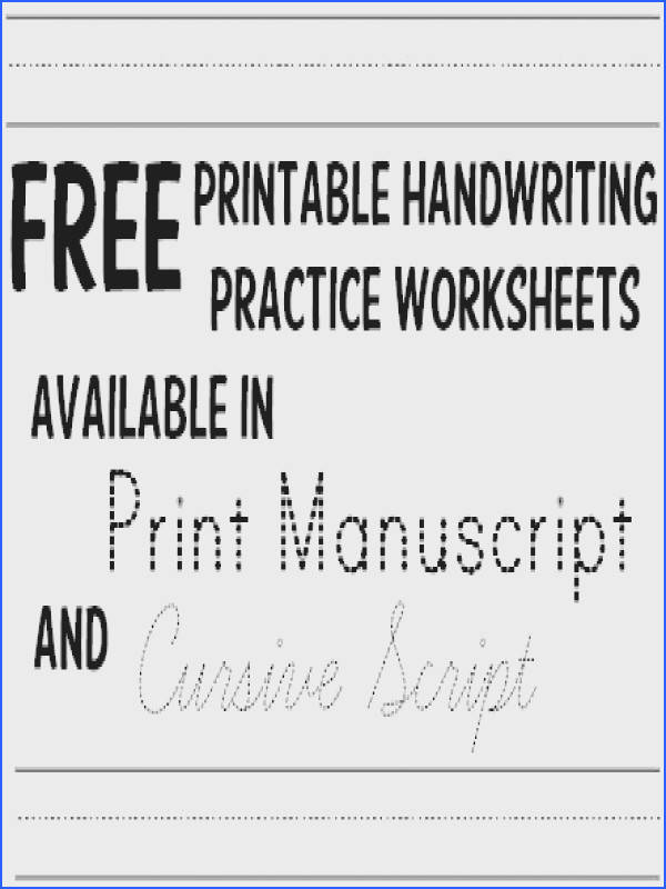 Handwriting Practice Worksheets 1000s Free Printables In coloring book