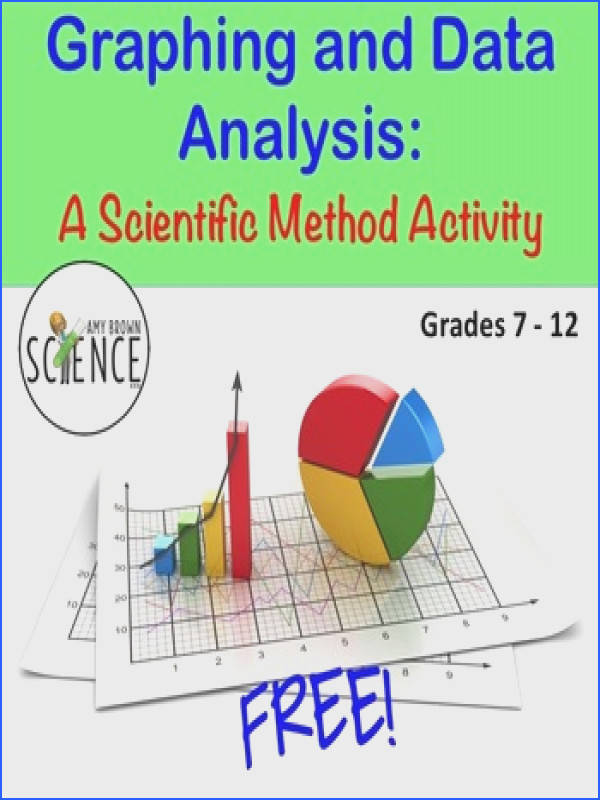 Free Graphing and Data Analysis Worksheet Provides much needed review reinforcement and practice of