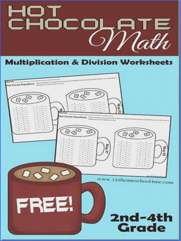 Chocolate Math Worksheets for Kids – This is such a fun math activity for grade grade grade and garde kids to practice Multiplication and Division