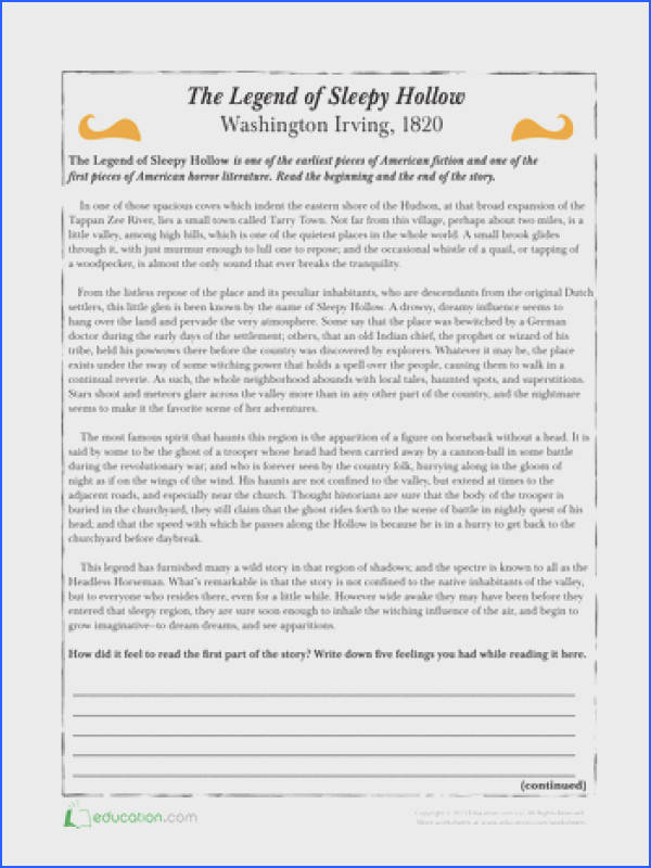 Free Printable High School Reading prehension Worksheets Worksheets for all Download and Worksheets