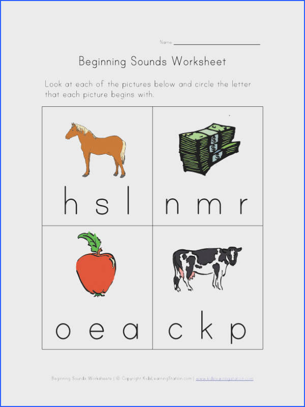 free printable phonics sounds worksheets for kids