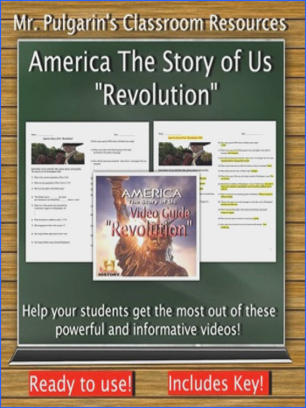 "American Story of Us ""Revolution"" plete Video Guide"