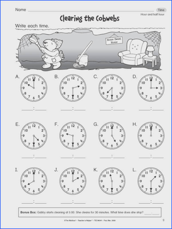 Free Worksheet For 1St Grade Worksheets for all Download and Worksheets