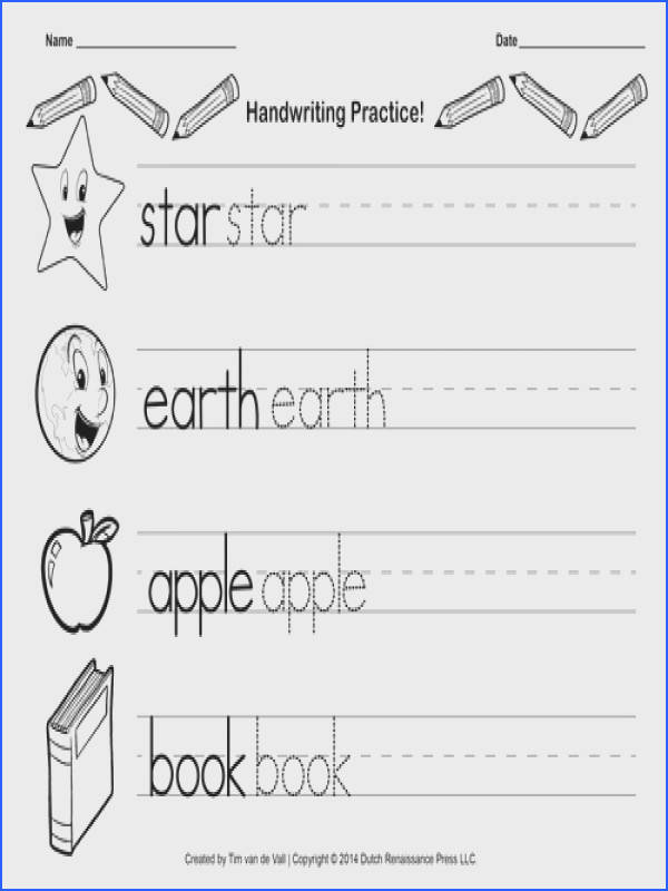 Free Worksheets writing practice for preschoolers Printables Writing Worksheets For Preschoolers safarmediapps