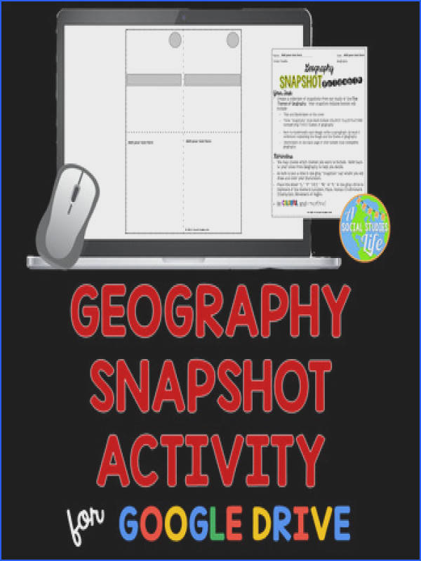 Five Themes of Geography Snapshot Activity Five Themes of Geography Snapshot Activity