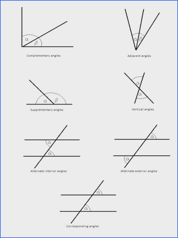 Geometry Worksheet Angles Worksheets for all Download and Worksheets