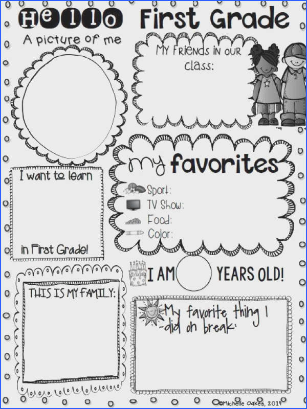 Getting to Know You Freebie Fabulous In First Image Below Getting to Know You Worksheets