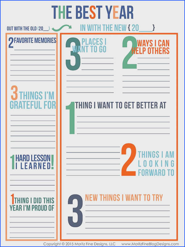 Goal Setting Worksheets for Kids & Adults