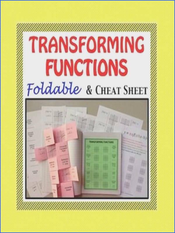 Graphing Function Transformations and Equations HSF BF B 3