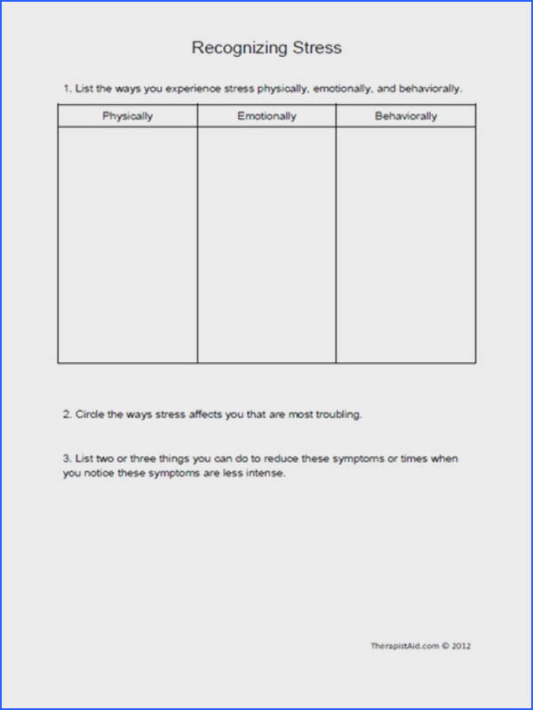 Substance Abuse Group Therapy Worksheets Switchconf
