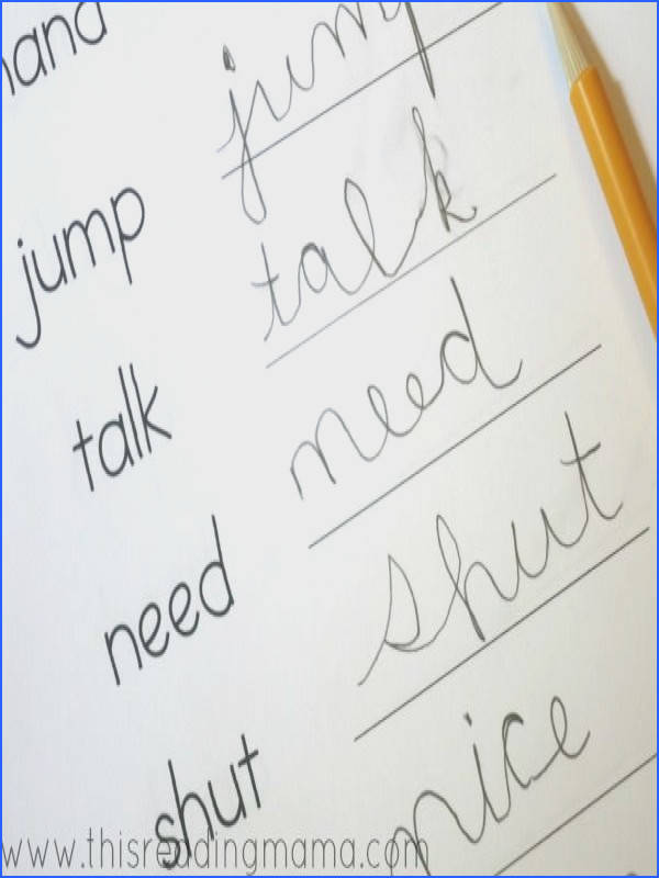 Handwriting Notebooks with LOTS of FREE Resources