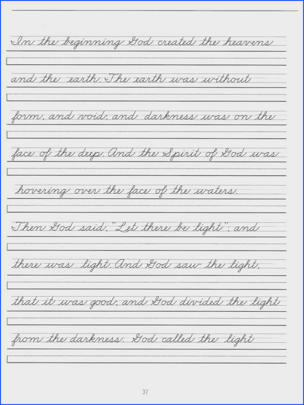 Handwriting Worksheets Cursive Writing Free