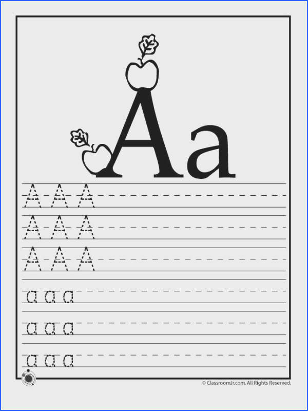 Help your preschoolers and kindergarteners learn their ABC s with these printable alphabet letter practice worksheets