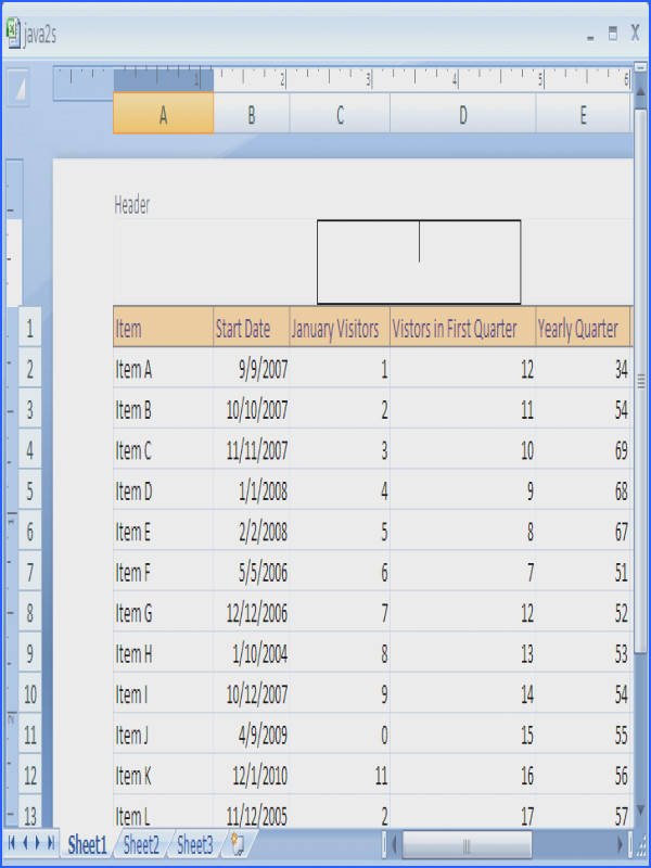 Remarkable How To Add Footer Worksheet In Excel 2007 Add A Predefined Header Or
