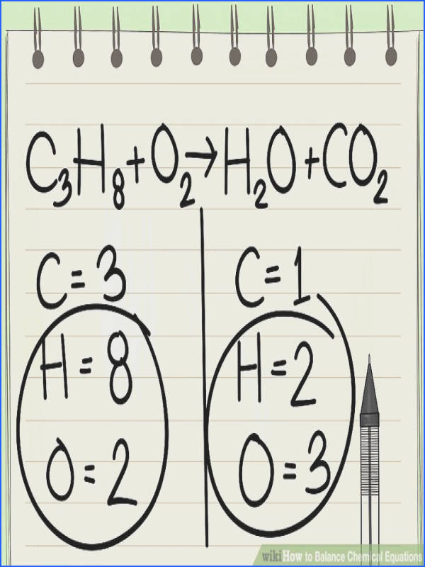Image titled Balance Chemical Equations Step 3
