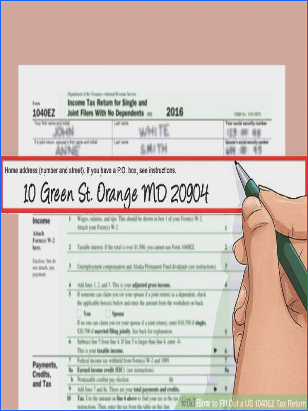 Image titled Fill Out a US 1040EZ Tax Return Step 6