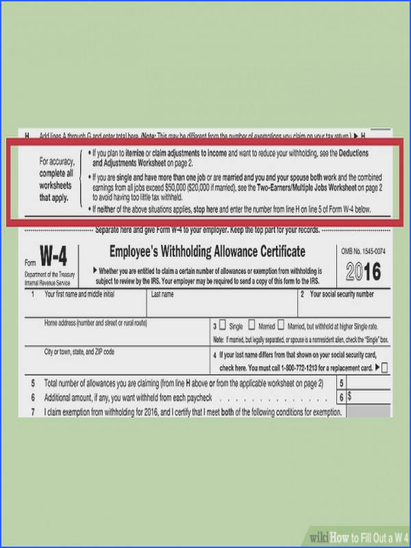 Image titled Fill Out a W 4 Step 10