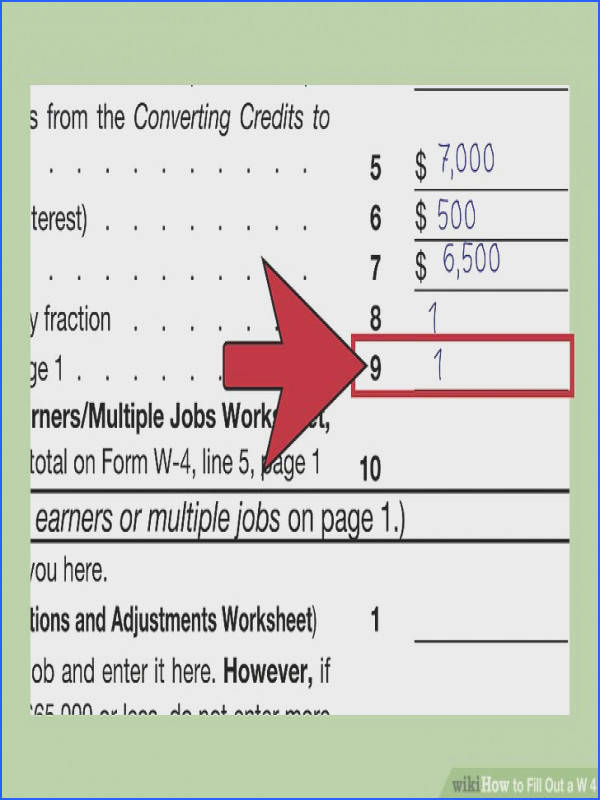 Image titled Fill Out a W 4 Step 27