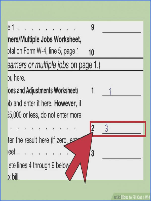 Image titled Fill Out a W 4 Step 30