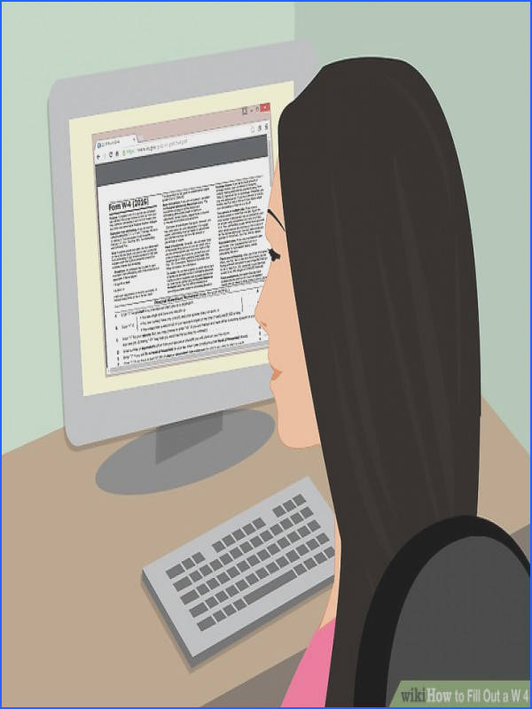 pleting the Personal Allowance Worksheet Image titled Fill Out a W 4 Step 1