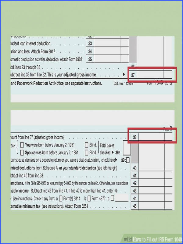 pleting the Tax and Credits and Other Taxes Sections Image titled Fill out IRS Form 1040 Step 16