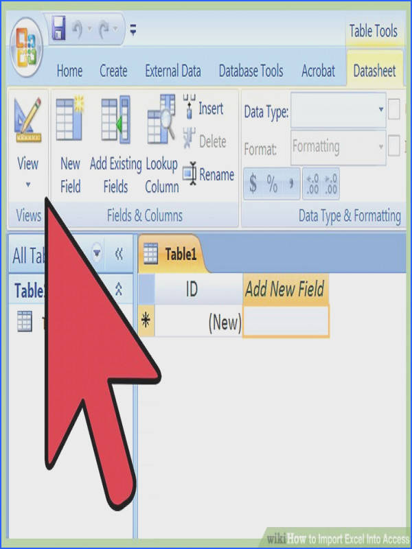 Image titled Import Excel Into Access Step 7