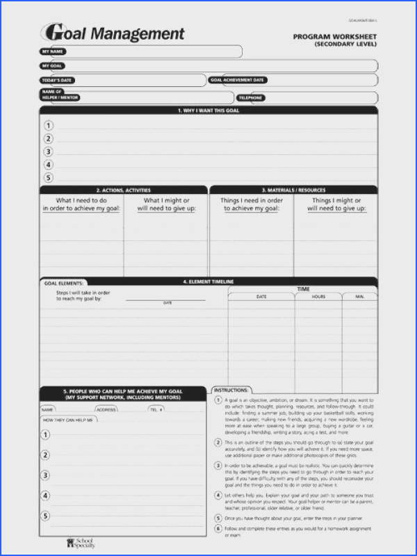 How to Set Goals That You ll Actually Ac plish with FREE Printable Goal Worksheet