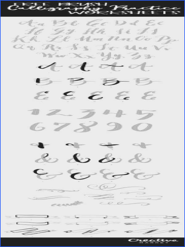 I just posted a new video and 9 Brush Calligraphy practice worksheets over in my Art Lettering Class Group We re working on pretty flourishes th…