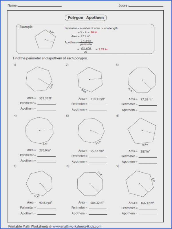 Central Angles And Inscribed Angles Worksheet Answer Key