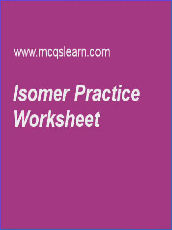 Structural isomerism MCQs quiz learn structural isomerism multiple choice questions answers online chemistry quiz MCQs types of structural isomerism are