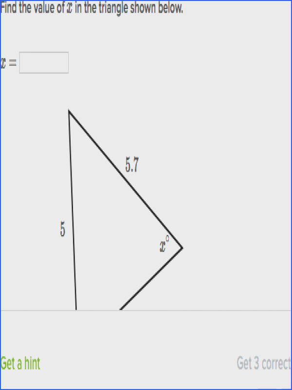 find angles in isosceles triangles
