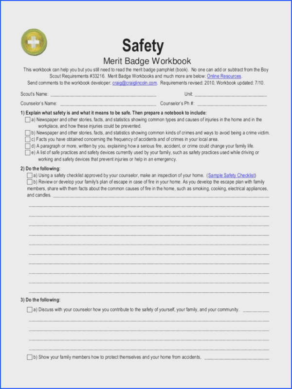 Kayaking Merit Badge Worksheet Worksheets for all Download and Worksheets