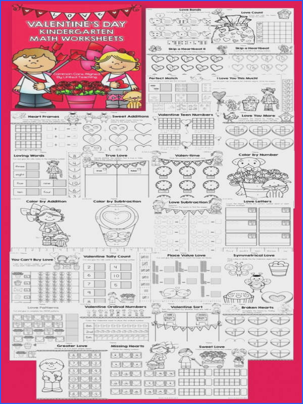 Kindergarten mon Core Math Worksheets 55 Best Worksheets Valentines Day Pinterest Appliques Kindergarten
