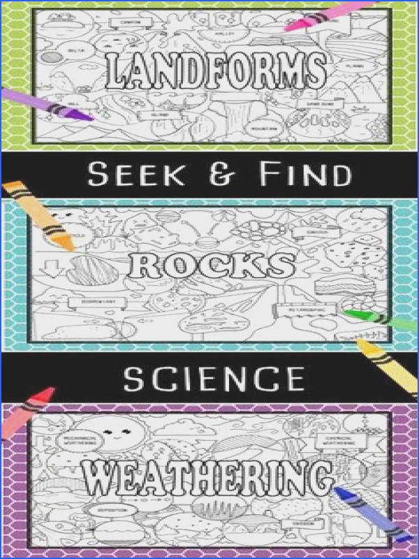 Seek & Find Science is perfect for introducing or reinforcing unit material for Lab Safety Measurement and Lab Equipment I love them for notebook title