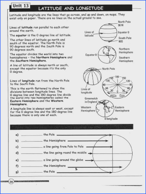 Latitude and Longitude Worksheet Answers Awesome Maths Revision Worksheet 1 Class Ii Edu P Line