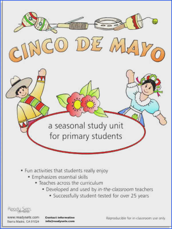 Cinco De Mayo Poems for Kids