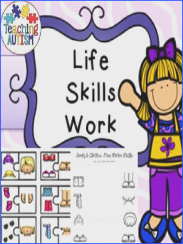 Life Skills Recognition Body & Clothes What Goes To her This product includes body and