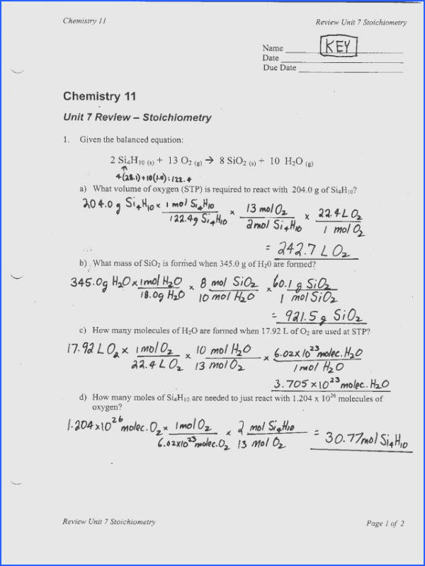 Limiting Reagent Worksheet part 2 Limiting Reagent Worksheet All