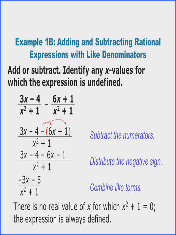 Homework Help Factoring Rational Expressions Simplify
