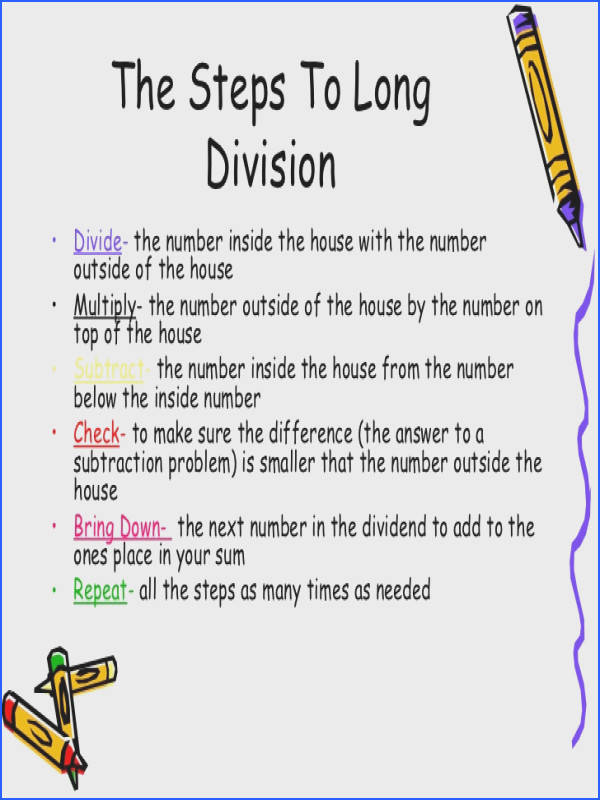 Long Division Worksheets