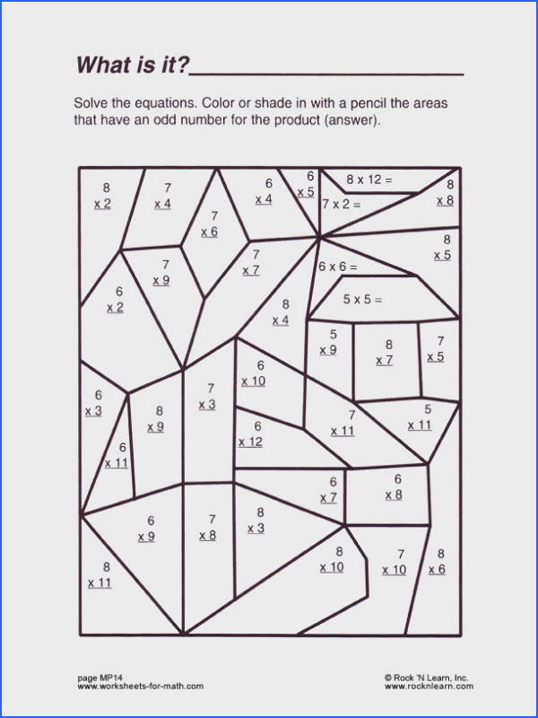 Formidable Math Fun Worksheets 4th Grade With Additional Math Fun Worksheets Free Worksheets Library of