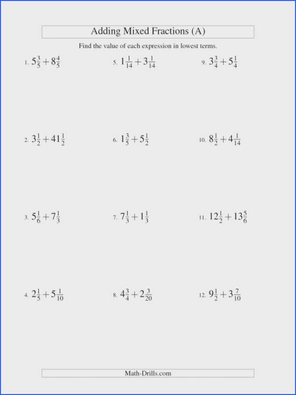 Adding Fractions Worksheets 4th Grade Fraction Addition Worksheet 6th Unlike Pdf Different Denominators Tes Ks2 And