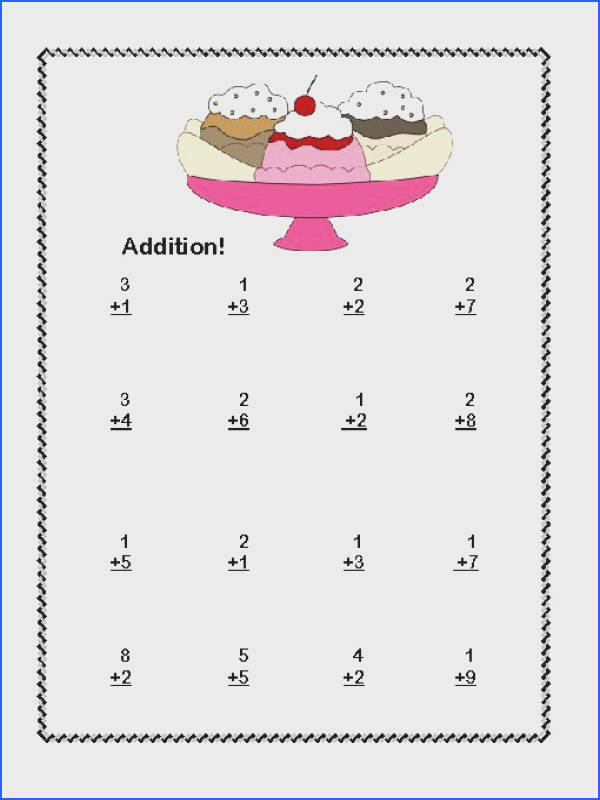 Pleasant Math Worksheets Free 1st Grade For Your First Grade Math Addition Subtraction Within 20