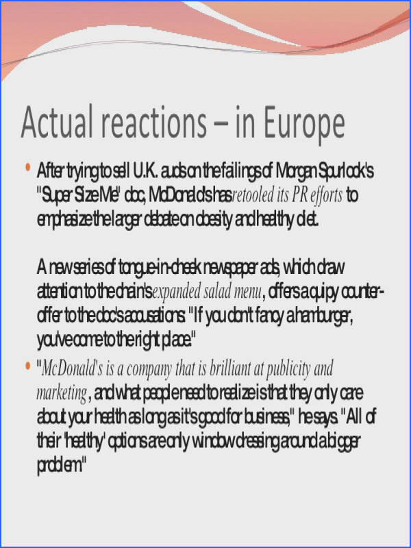Reaction in America 9