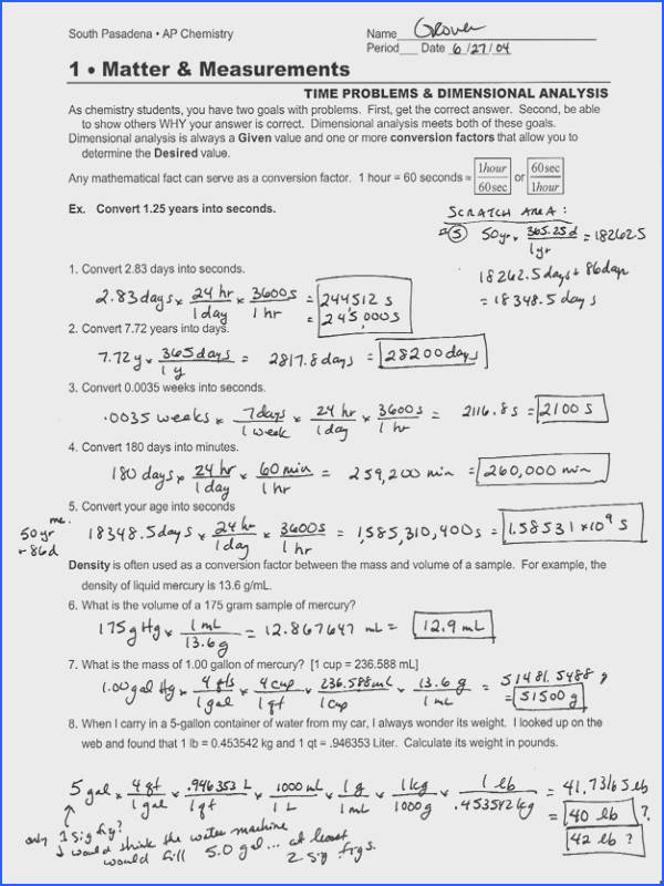 Molality Worksheet & Molarity Worksheet 1 Ration Agenda Check Image Below Dimensional Analysis Worksheet Chemistry